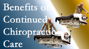 Spinal Care Clinic offers continued chiropractic care (aka maintenance care) as it is research-documented to be effective.