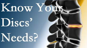Your Burlington and Hamilton chiropractor thoroughly understands spinal discs and what they need nutritionally. Do you?
