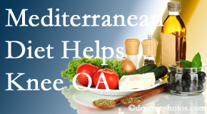 Spinal Care Clinic shares recent research about how good a Mediterranean Diet is for knee osteoarthritis as well as quality of life improvement.