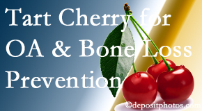 Spinal Care Clinic shares that tart cherries may enhance bone health and prevent osteoarthritis.