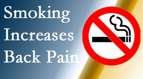 Spinal Care Clinic explains that smoking heightens the pain experience especially spine pain and headache.