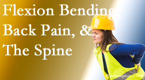 Spinal Care Clinic helps workers with their low back pain because of forward bending, lifting and twisting.