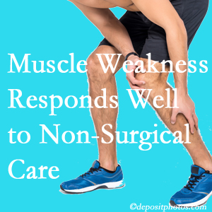 Burlington and Hamilton chiropractic non-surgical care manytimes improves muscle weakness in back and leg pain patients.