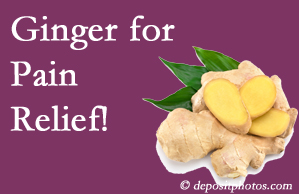 Burlington and Hamilton chronic pain and osteoarthritis pain patients will want to check out ginger for its many varied benefits not least of which is pain reduction.
