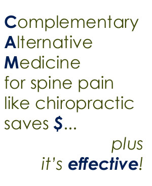 spine pain help from Burlington and Hamilton chiropractors