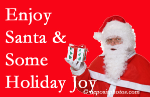 Burlington and Hamilton holiday joy and even fun with Santa are analyzed as to their potential for preventing divorce and increasing happiness.