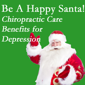 Burlington and Hamilton chiropractic care with spinal manipulation has some documented benefit in contributing to the reduction of depression.