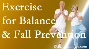 Burlington and Hamilton chiropractic care of balance for fall prevention involves stabilizing and proprioceptive exercise.