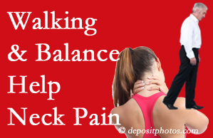 Burlington and Hamilton exercise assists relief of neck pain attained with chiropractic care.