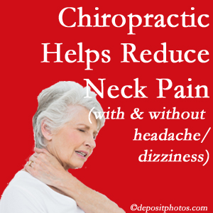 Burlington and Hamilton chiropractic treatment of neck pain even with headache and dizziness relieves pain at a reduced cost and increased effectiveness.