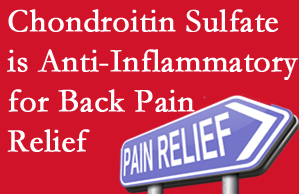 Burlington and Hamilton chiropractic treatment plan at Spinal Care Clinic may well include chondroitin sulfate!