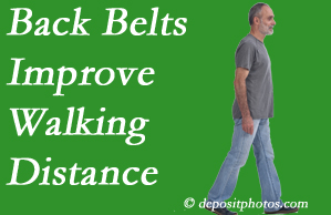 Spinal Care Clinic sees value in recommending back belts to back pain sufferers.