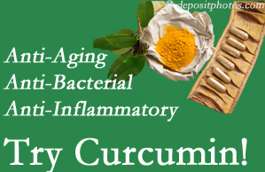 Pain-relieving curcumin may be a good addition to the Burlington and Hamilton chiropractic treatment plan.
