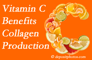 Burlington and Hamilton chiropractic shares tips on nutrition like vitamin C for boosting collagen production that decreases in musculoskeletal conditions.