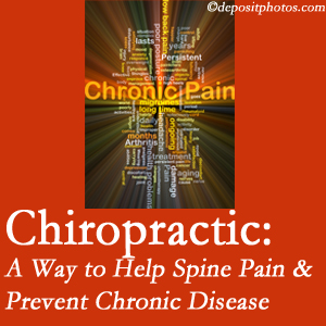 Spinal Care Clinic helps relieve musculoskeletal pain which helps prevent chronic disease.